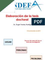 Fundefa - Tesis Doctoral - Dr. Freddy Rodríguez Torres, Phd