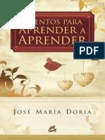 Cuentos para aprender a aprender - José María Doria