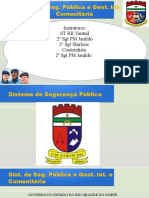 00 - Sistema de Segurança Pública e Gestão Integrada e Comunitária - Módulo 00 - Ementa