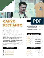 Cahyo Destianto - Graphic Designer and Illustrator