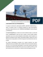 Contaminación Electromagnética. M. Arq. Andrés Dionisio