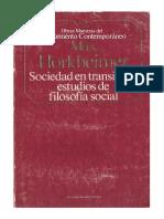 Hokheimer Max - Sociedad En Transicion Estudios De Filosofìa Social.pdf