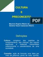 Cultura e Preconceito - Unesp 2017