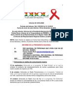 Informe Nro 4 Septiembre a Diciembre 2019, Gestion 2018 a 2020