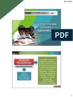 GESTIÓN EDUCATIVO MODELOS Y ENFOQUES