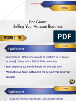 M10 11 End Game- Selling Your Business