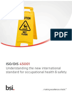 ISO 45001 DIS Informative Guide