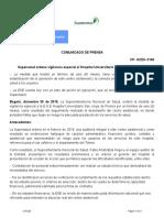 Copia de Comu#148 2019 Supersalud VigilanciaEspecial ESESanJorge Pereira