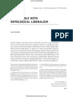 ontological-liberalism