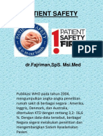 PATIENT SEFETY REVISI dr fadjriman,SpS