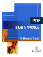 Issues in Appraisal [Compatibility Mode].pdf