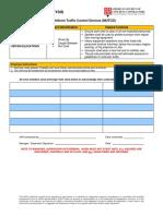 job hazard analysis of site SURVEYING