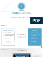 Shaw Academy Online Education Guide