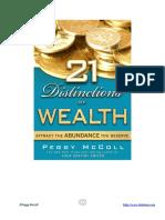 21 Distinctions of Wealth Check List.pdf
