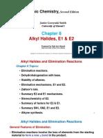 ALKYL HALIDE, E1 and E2