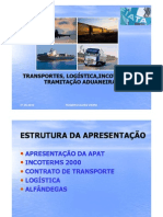 Transportes Logistica Incoterms TramitacaoAduaneiraAPAT