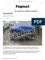Tráiler invade carril y choca contra automóvil _ Página3