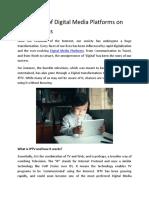 Digital Media as a Service - OTT Solutions