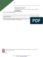 Review of Design parameters of ASP