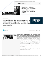 1000 libros de matemática_ álgebra, geometría, cálculo, teoría, matemática avanzada