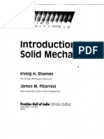 Introduction to Solid Mechanics by Irving Shames