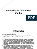 Manipularea Prin Mass-media