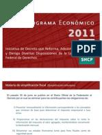 paquete economico 2011