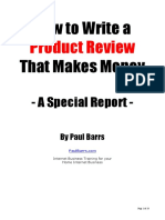 How To Write A Product Review That Makes Money