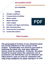 Plant location-Case-Study