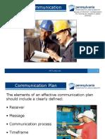 Effective Safety Communication
