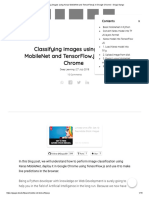 Classifying Images Using Keras MobileNet and TensorFlow.js in Google Chrome – Gogul Ilango