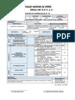 SESIONES DPCC 1° y 2° - 18-03-2019