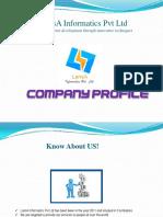 Lansa informatics pvt ltd - Profile