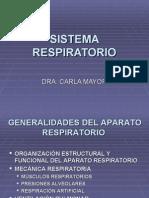 FISIOLOGIA SISTEMA RESPIRATORIO I