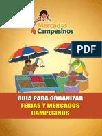 Guia para organizar ferias y mercados campesinos