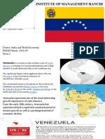 Venezuela Economy crisis