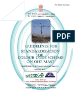 Guidelines for Standardization of Colour Code Scheme on OHE Mas