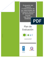 Anexo 2. Plan metodologógico de evaluación