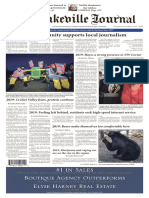 The Lakeville Journal - January 2, 2020