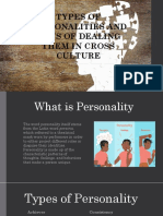 Types of Personality