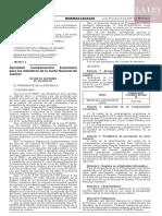 Decreto supremo N° 412-2019-EF