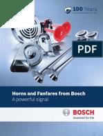 Bosch Horns & Fanfares Consumer Brochure