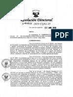 RD N 04646 Orientaciones Enfoque Ambiental Durante Año 2019