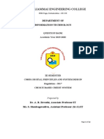 CS8351-Digital Principles and system Design