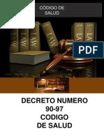 regulaciones del código de salud Guatemala