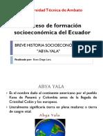 Breve historia socioeconómica del AbyaYala