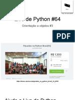 Live de Python #64