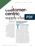 Customer Centric SCM