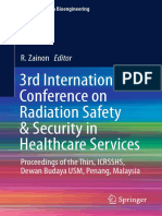 3rd International Conference on Radiation Safety & Security in Healthcare Services-Springer Singapore