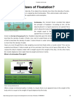 Floatation and its Laws.pdf